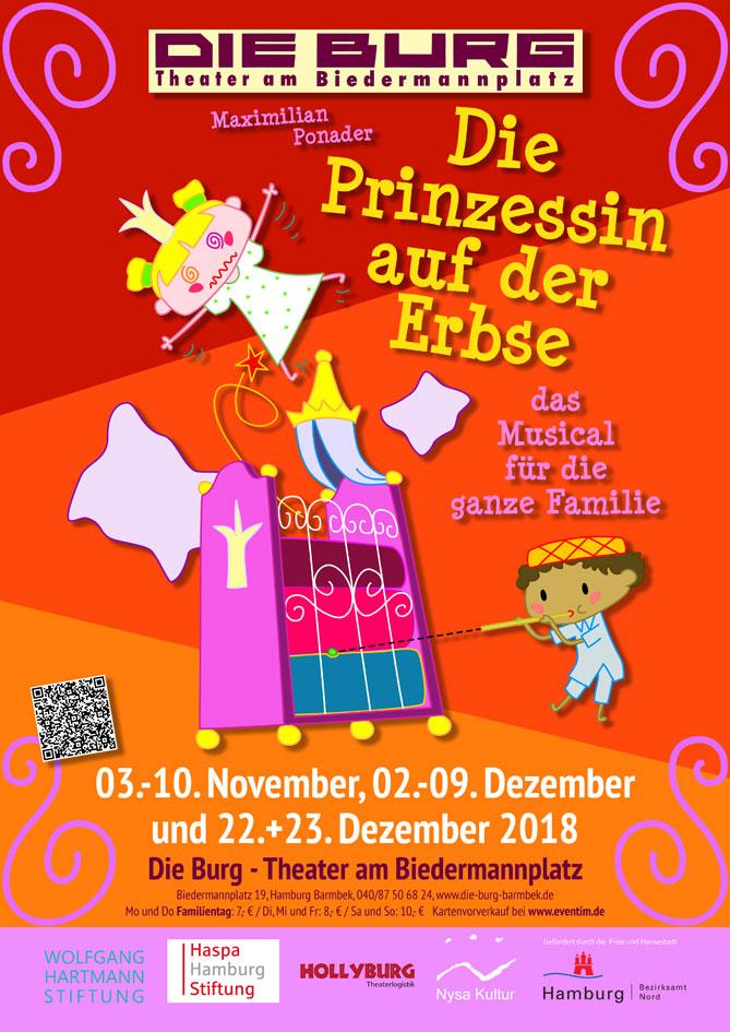 """""""Die Prinzessin auf der Erbse"""" in der Burg"""
