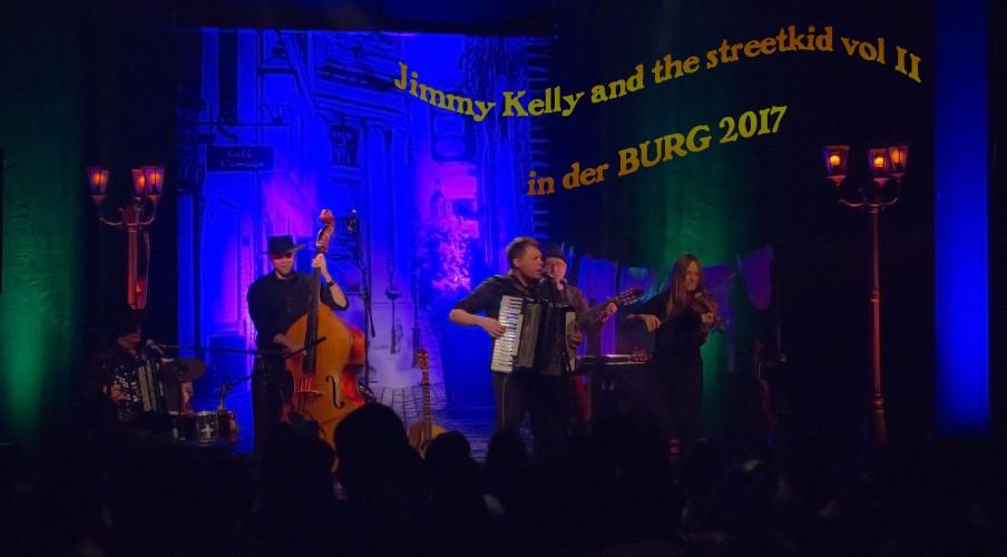 Jimmy Kelly 2017 in der BURG