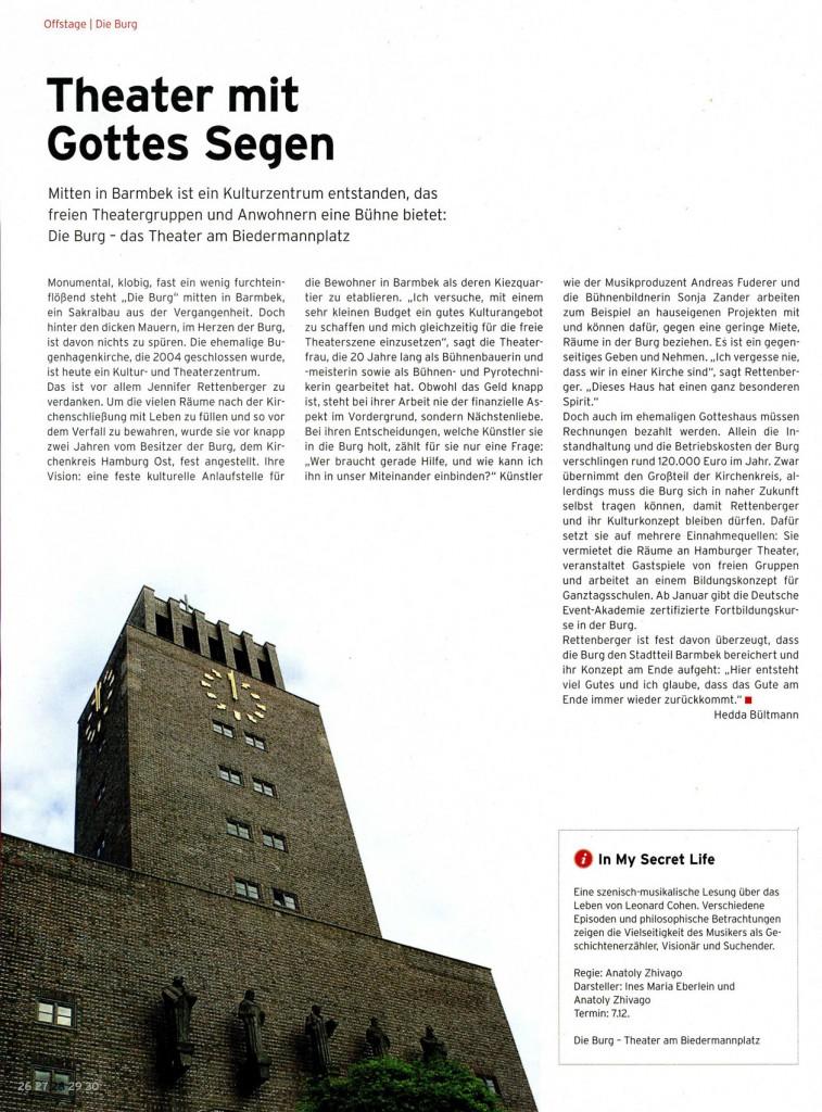 Die BURG - Presse
